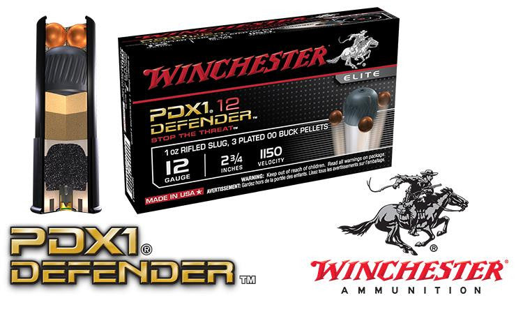 "<b>(Store Pickup Only)</b><br> 12 Gauge - Winchester PDX1 Defender Shells, 2-3/4"", Box of 10 #S12PDX1"