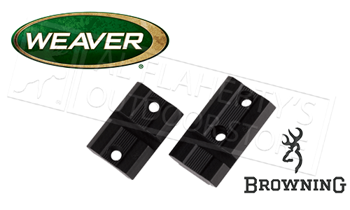 Weaver Optics Top Mount Base Pair for Browning X-Bolt Rifles #48493
