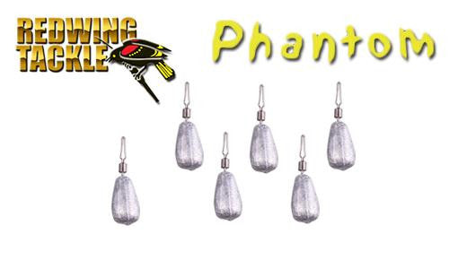 Redwing Tackle Phantom Drop Shot Weights, 1/8 oz, Pack of 6