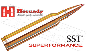 Hornady  #8061 7mm Rem Mag Superformance, SST 154 Grain Box of 20