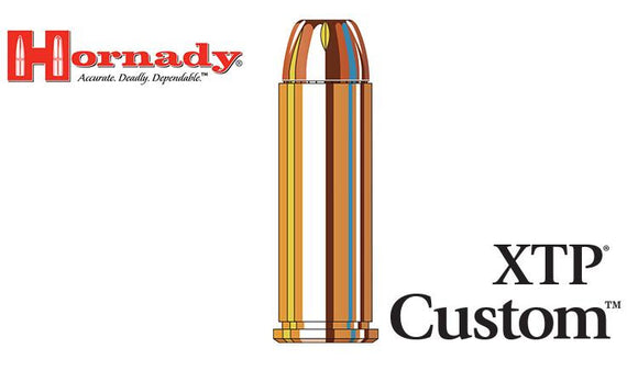 <b>(Store Pickup Only)</b><br>Hornady Custom XTP .44 MAG, 240 Grain Box of 20 #9085