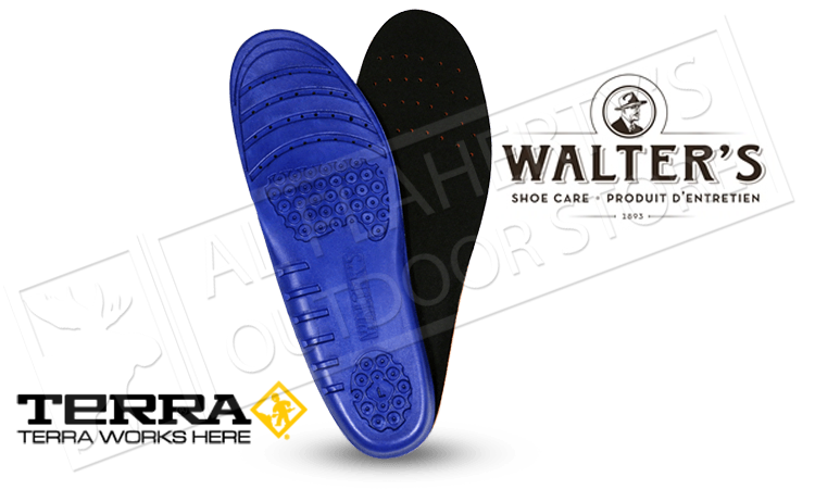 Terra Anti-Fatigue Footbed Insoles by Walter's #41600314