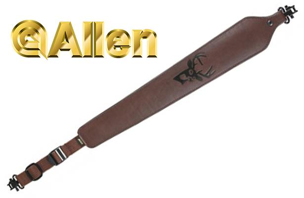 Allen Cobra Padded Leather Rifle Sling 8145