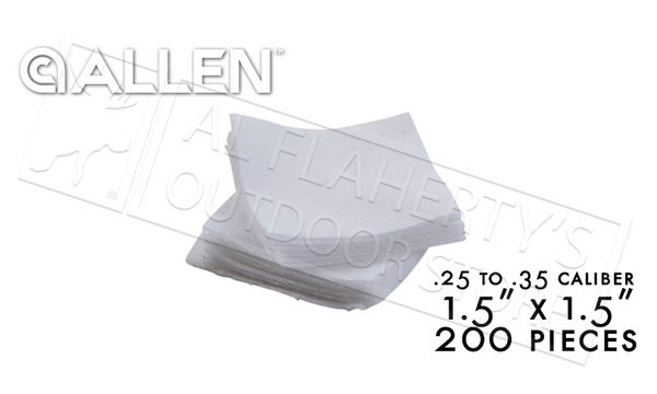 "Allen Cleaning Patches 1.5"" Pack of 200 #70711"