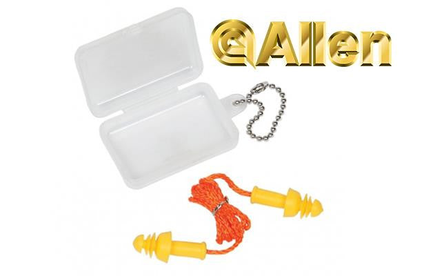 Allen Molded Ear Plugs with Cord 24NRR 2293