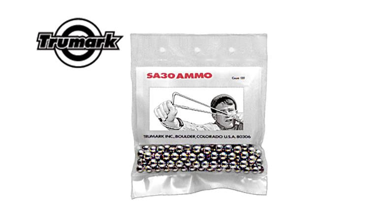 "Trumark Inc SA30 5/16"" Steel Slingshot Ammunition, 120 Shot Bag #SA30"