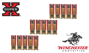 "<b>(Store Pickup Only)</b><br> 12 Gauge, Winchester Super X Rifled Slugs Value Pack, Hollow Point, 3"" Box of 5 #X123RS15VP"
