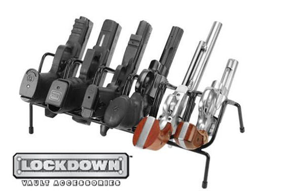 Lockdown Vault Accessories Handgun Rack 222210