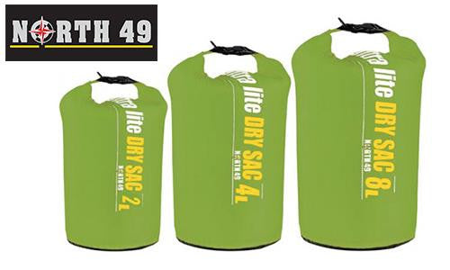 North 49 Ultra Lite Dry Sac Set, Pack of 3 Sizes #1258