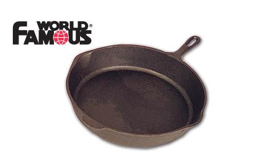 "World Famous Cast Base Camp Skillet, 14.5"" #1349"