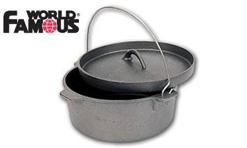World Famous Cast Iron Dutch Oven, 7 Litres #1359