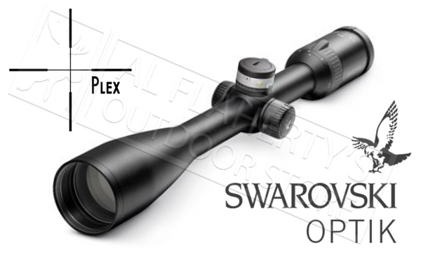 Swarovski Z5 Scope 3.5-18X44mm W/Plex Reticle, Ballistic Turrets & Parallax Adjustments #59760