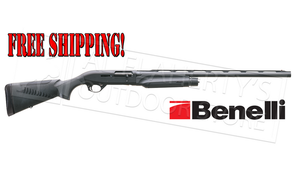 Benelli M2 Field Shotgun, Black Synthetic 12 Gauge and 20 Gauge
