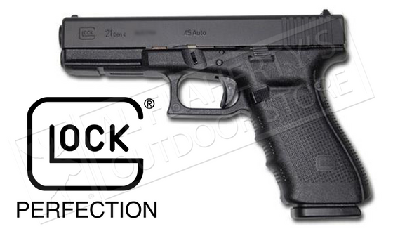 Glock 21 Gen4 Fixed Sight .45ACP