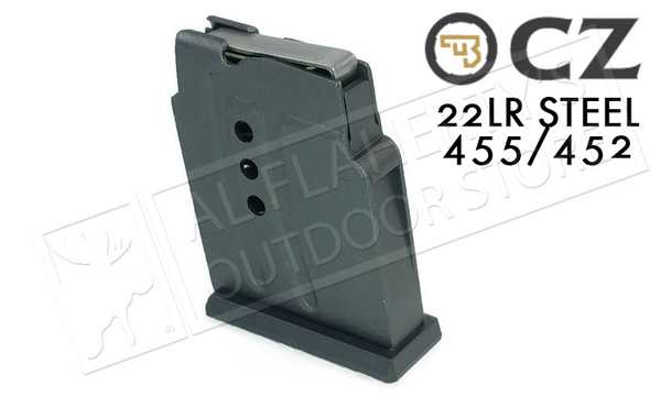 CZ 452 455 .22LR Steel Magazine #5133100001ND