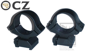 "CZ Scope Ring Mount for CZ 527, 1"" Medium Height #PFAPR30130"