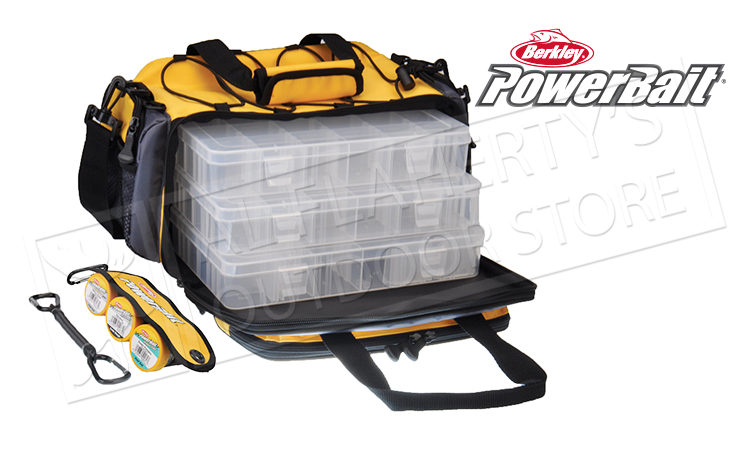 Berkley PowerBait Medium Tackle Bag with 3 Tackle Trays #BATBMFW