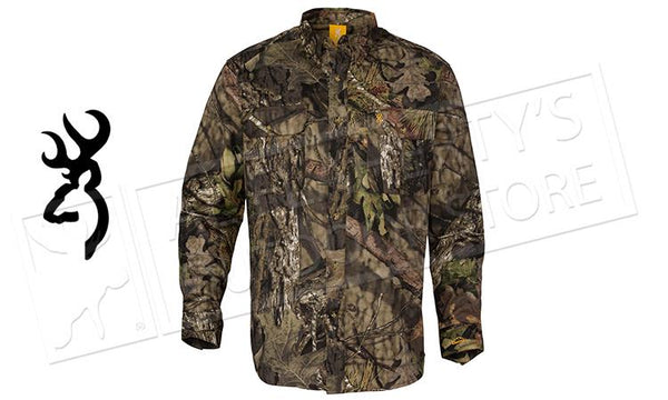 Browning Wasatch Shirt, Mossy Oak Break-Up Country #30113520