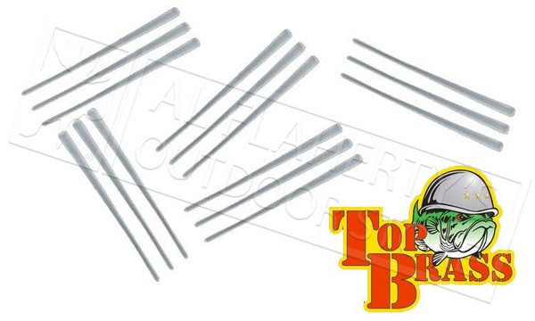 Top Brass Tackle The Bead Peg-It, Natural Colour, Pack of 50 #PEG-BEAD-NAT-50