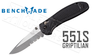 Benchmade 551S Griptilian Serrated by Pardue Design