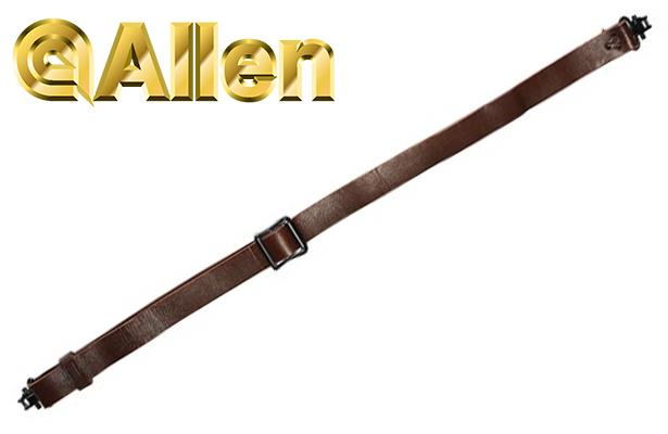 Allen Slide & Lock Leather Sling with Swivels 8432