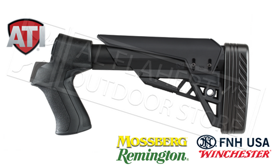 ATI T3 TactLite Shotgun Stock for Remington Winchester FNH Savage & TriStar Pump Shotguns #B.1.10.1140