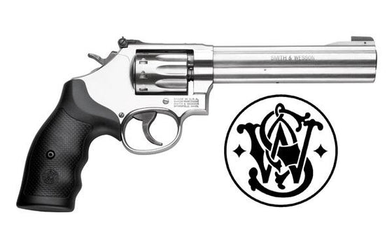 "Smith & Wesson 617 Revolver .22LR 6"" 10-Shot #160578"