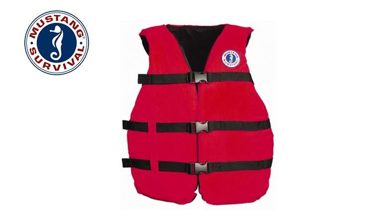 "Mustang Survival Universal Fit PFD, Adjustable to 52"" Chest #MV3005"