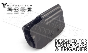 Blade-Tech Holster Classic OWB for Beretta 92 96 and Brigadier with TekLok and ASR #HOLX000861061892