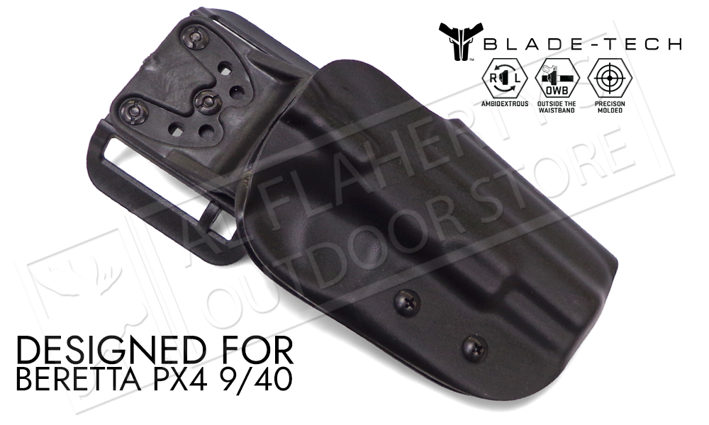 Blade-Tech Original Holster for Beretta PX4 9mm and 40SW, Right-Handed D/OS with ASR Mount #HOLX000859087700