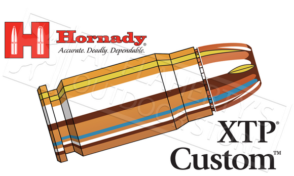 Hornady  #9131 .357 SIG Custom, XTP 147 Grain Box of 20