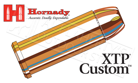 Hornady  #9070 44 Special Custom, XTP 180 Grain Box of 20