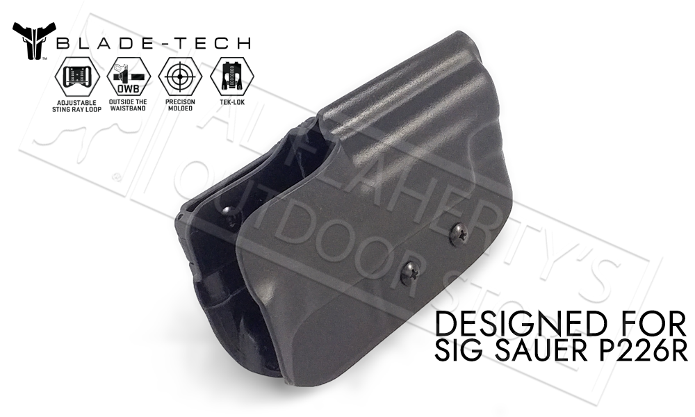 Blade-Tech Holster Classic OWB for SIG P226R Railed Pistols with TekLok and ASR #HOLX000808574842