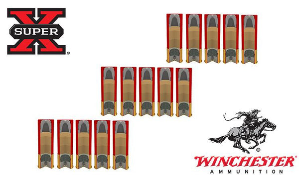 "<b>(Store Pickup Only)</b><br> 12 Gauge, Winchester Super X Rifled Slugs Value Pack, Hollow Point, 2-3/4"" Box of 15 #X12RS15VP"