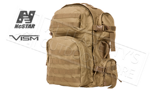 NcStar VISM Tactical Backpack Tan #CBT2911