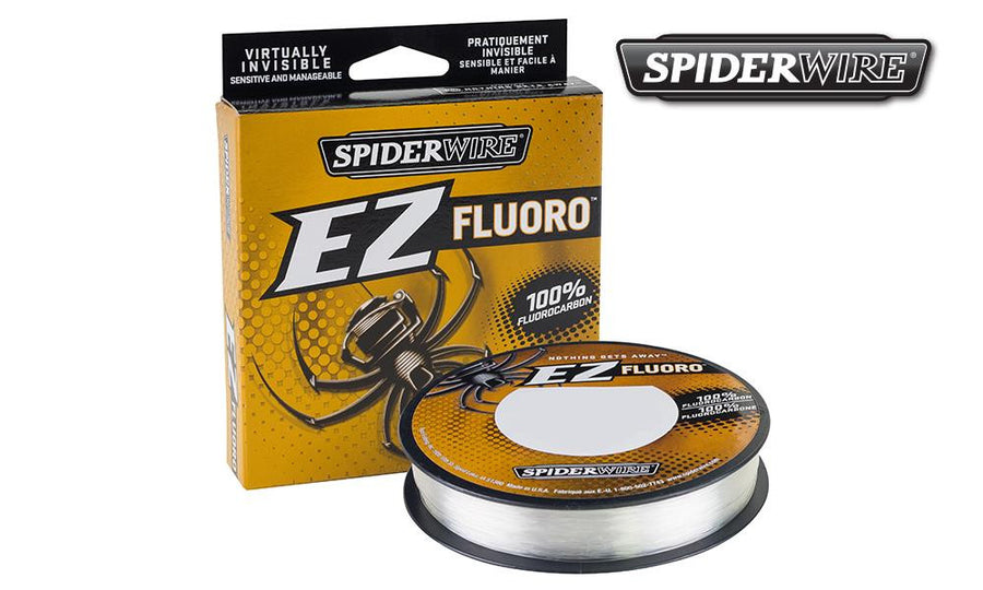 Spiderwire EZ Fluoro Fishing Line, Clear, 200 Yard Spools #SEZFF