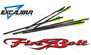 "Excalibur Firebolt 20"" Carbon Arrows 6-Pack 22CAV-6"