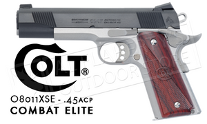 Colt XSE Combat Elite 1911, .45ACP Government Frame #08011XSE