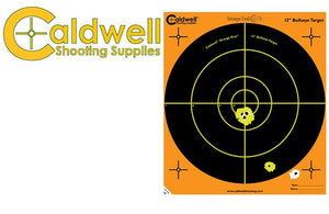 Caldwell Orange Peel Bullseye Pack of 100 121005