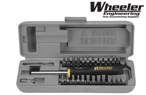 Wheeler Space Saver Screwdriver Set 664507