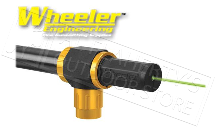 Wheeler Professional Green Laser Magnetic Bore Sighter #589922