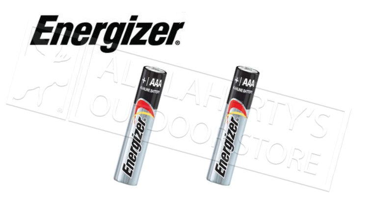Energizer MAX AAA Batteries - Pack of 2 #E92BP2