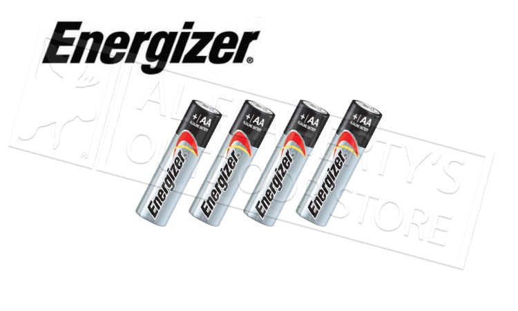Energizer MAX AA Batteries - Pack of 4 #E91BP4