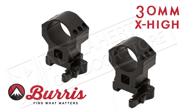 Burris XTR Xtreme Tactical Scope Rings, Quick Detach, Extra High, 30mm #420159