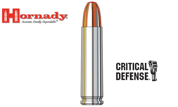 <b>(Store Pickup Only)</b><br>Hornady 30 M1 Carbine Critical Defense FTX, 110 Grain, Box of 25 #81030