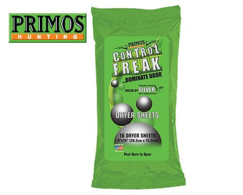 Primos Hunting Control Freak Dryer Sheets #58047
