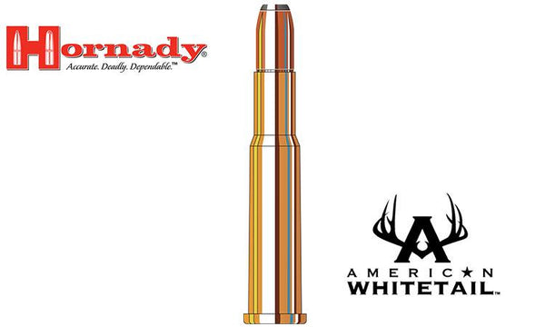 <b>(Store Pickup Only)</b><br>Hornady 30-30 WIN American Whitetail Interlock RN, 150 Grain, Box of 20 #80801