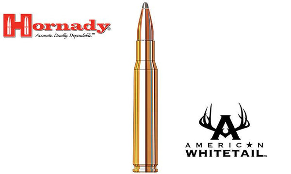 <b>(Store Pickup Only)</b><br>Hornady 30-06 Springfield American Whitetail Interlock SP, 150 Grain, Box of 20 #8108