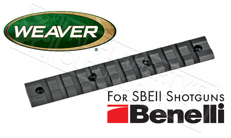 Weaver Optics Multi-Slot Base for Benelli SBEII Shotguns #48339