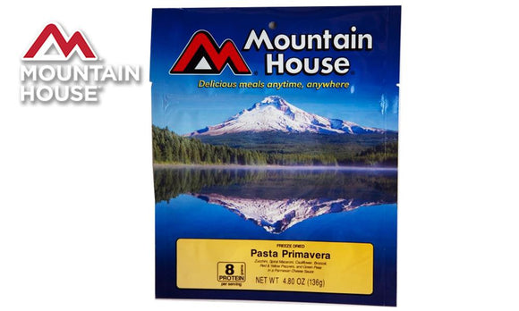 Mountain House Pack, Pasta Primavera, 2.5 Servings #53137